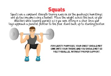 Six Pack Abs Exercise Spotlight | Squats